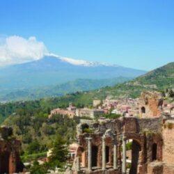 Taormina, el belvedere más famoso de Sicilia.